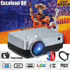 Portable Multimedia Video LED Projector Home Cinema Theater 1080P HD 3D HDMI USB