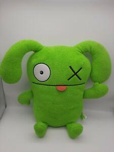 "Hasbro UGLY DOLLS OX the Charismatic Leader Green Large 18"" Stuffed Plush"