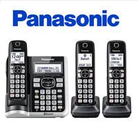 Panasonic KX-TGF573S DECT 6.0 3 Handset Cordless Phone