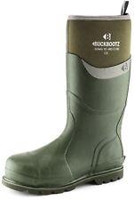 Buckler Waterproof Safety Wellington Boots Black, Blue, Green or Orange Wellies