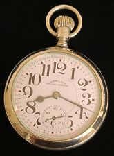 Pocket Watch / Rare Hamilton Salesman Case New listing