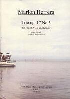 00312 Noten Trio, Fagott, Viola, Klavier, Lateinamerika