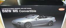 BMW M6 CONVERTIBLE KYOSHO SILVER  SOLO CAJA  ( Box only )  1:18