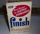 Vintage Finish  Dishwasher  Detergent For Electic Dishwashers Sample Box