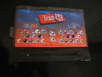 New NFL 1994 Pencil pen case for 3 ring binder zipper pouch case football teams