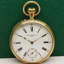 1892's PATEK PHILIPPE 18K SOLID PINK GOLD MANUAL WIND POCKET WATCH