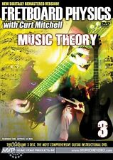 """""""FRETBOARD PHYSICS"""" CURT MITCHELL-MUSIC THEORY:GUITAR DVD 3 NEW SEALED ON SALE!!"""