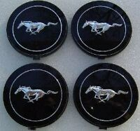 74 75 76 77 MUSTANG II NOS STEEL STYLE WHEEL HUBCAP INSERTS FORD EMBLEMS