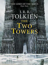 Two Towers JR Tolkien Lord of the Rings ILLUSTRATED EDITION  ALAN LEE.VGC    R75