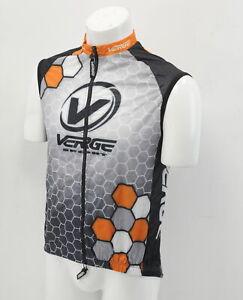 Verge Light Vest Small Orange/Black/White Brand New