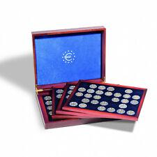 348031 - Leuchtturm  Münzkassette VOLTERRA QUATTRO deLuxe für140 x 2-Euro-Münzen