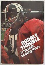 Double Trouble by Tony Gabriel 1978 HC/DJ CFL Football Ottawa Roughriders