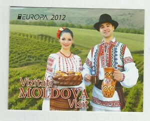 S36596 Moldova Europa Cept MNH 2012 Booklet
