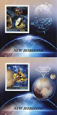 Congo 2015 MNH New Horizons Pluto 2 x 1v S/S Space Stamps