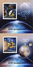 Congo 2015 Gomma integra, non linguellato nuovi orizzonti Plutone 2 x 1v S/S FRANCOBOLLI DELLO SPAZIO