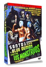 SANTO AND BLUE DEMON VS THE MONSTERS (Eng Subtitled) DVD