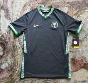 2020/2021 Nigeria (Small) Soccer Football Federation Away Jersey NWT CCT4224