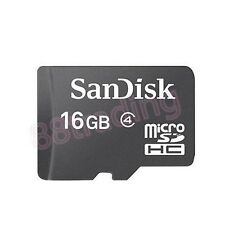 New 16GB San Disk Micro SD + Memory Card Reader FOR NOKIA PHONE + TABLET SERIES