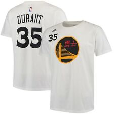 Kevin Durant Golden State Warriors adidas Chinese New Year Name & Number T-Shirt