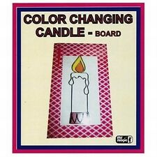 COLOR CHANGING CANDLE IN FRAME MAGIC TRICK STAGE PARTY FAMILY SHOW FREE SHIPPING