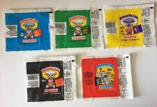 GARBAGE PAIL KIDS Series 2, 3, 4, 5 and 6 SERIES WRAPPERS - All Original