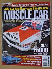 Australian Muscle Car Iss 80 HDT Torana F5000 Sports Sedan, Chrysler 340 Charger