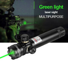 Tactical Green Red Laser Dot Sight Rifle Gun Qd Rail Mount+Remote for Hunting