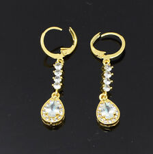 Gold Plated Earrings Hoops CZ Studs Indian Jewelry Wedding Fashion Designer UK