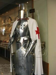 Medieval Wearable Full Suit Of  Armour Costume Knight Crusader