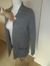 River Island ladies grey open jacket size 6