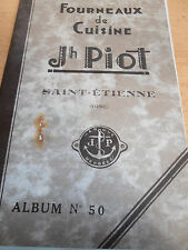 catalogue de fonderie - fourneaux - cuisinières ST - Etienne 1933  ( ref 7 )