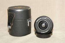 ASAHI PENTAX TAKUMAR BAYONET 1:2.8 28mm MF PRIME LENS PENTAX K MOUNT W/ CASE