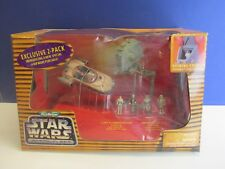 4 FIGS STAR WARS ACTION FLEET BATTLE PACK #2 IMPERIAL FORCES AT-ST SCOUT WALKER