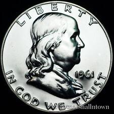 1961  Franklin Silver Half Dollar Mint Proof (Raw Coin)