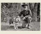 Внешний вид - First Marine Corps Mascot Dog PHOTO Sgt Major Jiggs, Bulldog USMC WWI 1925