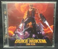 DUKE NUKEM 3D - PC Game original cd-rom and user guide  - Mint Disc 1 Owner !