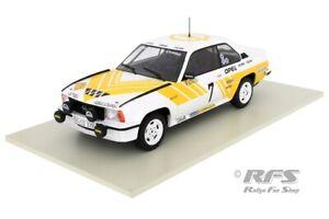 Opel Ascona 400 Winner Rallye Schweden 1980 Andres Kulläng 1:18 Altaya IXO NEU