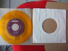 """BEATLES SP 45T 7"""" US JUKE BOX Yellow Submarine / Eleanor Rigby Yellow vinyl 1994"""