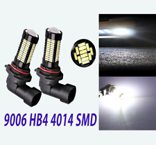 6000K 9006 HB4 108 SMD 4014 LED Bulb Fog Light For BMW Benz Ford GM