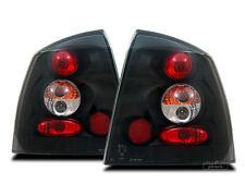 AuCo Rückleuchten Set Schwarz passend passend für Opel Astra G