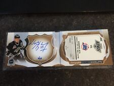 16-17 UD The Cup WAYNE GRETZKY Autographed Ticket Booklet 06/10 INSANE!!