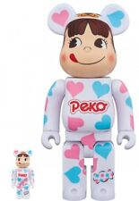 Medicom 400% & 100% Be@rbrick Peko Heart Costume LTD Bearbrick F/S