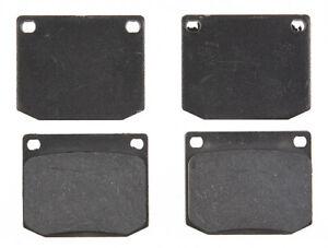 Disc Brake Pad Set-Organic Disc Brake Pad Front ACDelco Pro Brakes 17D2