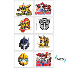 TRANSFORMERS PARTY SUPPLIES FAVOURS TATTOOS SHEET