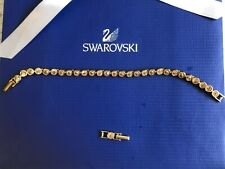 Swarovski Tennis Gold Plated Bracelet
