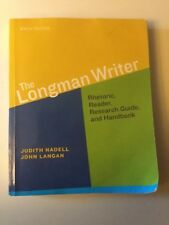 The Longman Writer by John Langan, Judith Nadell and Deborah Coxwell-Teague...