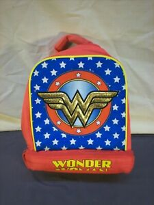 Wonder Woman DC Comics Soft Lunch Bag Lunch Box Insulated With Light Up Sparkles