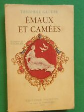 EMAUX ET CAMEES THEOPHILE GAUTIER  ILLS WIGHEAD  1930 NILSSON