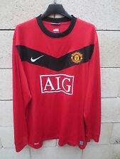 Maillot MANCHESTER UNITED 2010 NIKE shirt manches longues long sleeve XL