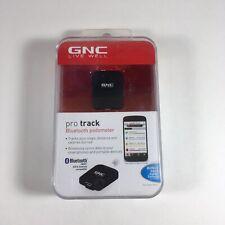 GNC Pro Track Bluetooth Black Pedometer GP-5560-BLK NEW SEALED